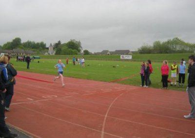 Knockea NS U.L. Athletics Competition running girl