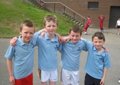 Knockea NS U.L. Athletics Competition boys